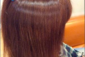 おしゃれ染めくらい明るく白髪もしっかり染めるカラー