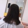 定期的にカラーをしている髪を なるべく痛ませない縮毛矯正