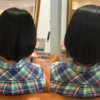 多毛でお悩みの方、髪を梳かずにきれいにまとまる縮毛矯正