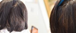 多毛、硬毛でも髪に余力を残して縮毛矯正