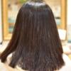 捻転毛で多毛な髪の縮毛矯正