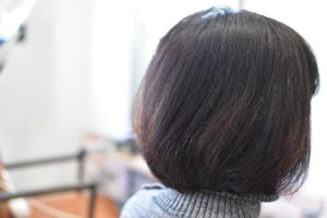 細くて乾燥毛な髪にインナー強化でトリートメント