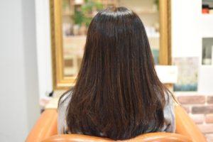 いつか毛先にパーマがかけられるまで、髪の体力残しながらの矯正