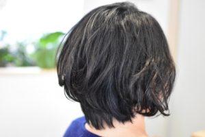 いつもペタンとしちゃう細い髪にはショートボブでふんわりデジタルパーマ
